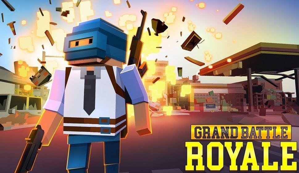 Grand Battle Royal Pixel War