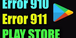 error 910 play store