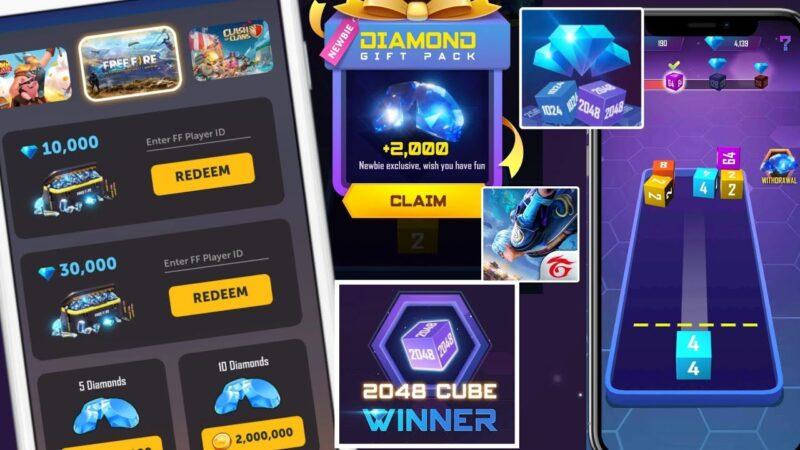 2048 Cube Winner – Aim To Win Diamond