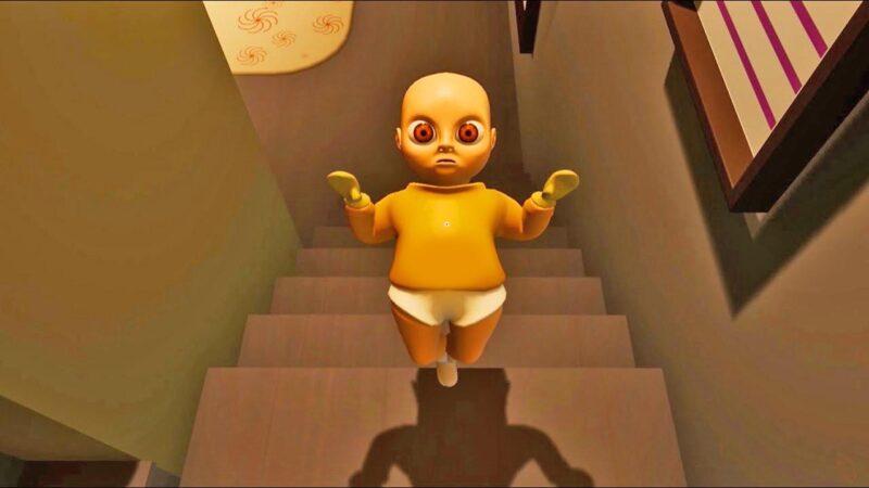 El bebé amarillo