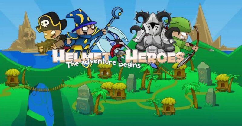 Helmet Heroes MMORPG – Heroic Crusaders RPG Quest - imagen