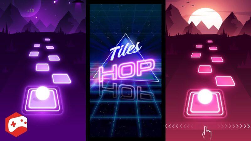 Tiles Hop EDM Rush